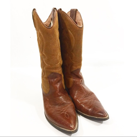 860ba6e28c84 Aldo Shoes - Women s Aldo Cowgirl leather Brown boots size 7.5
